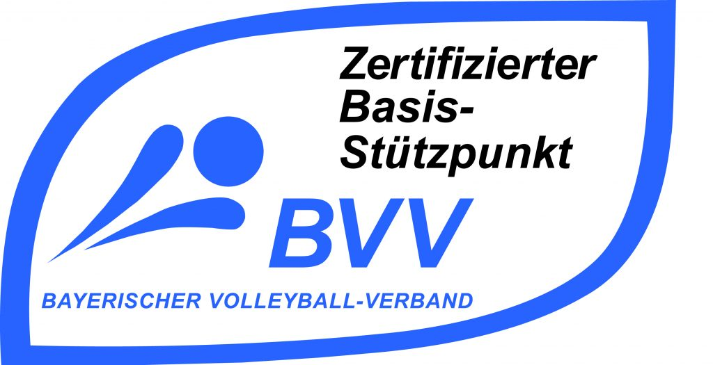 Offizielles Logo des Bayerischen Volleyball-Verbandes.